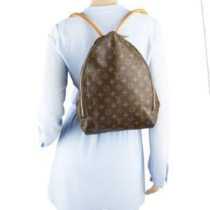 Louis Vuitton Monogram Shopping Bag Backpack
